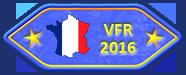Tour régions VFR - A terminé le tour des nouvelles régions 2016 VFR